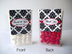 full wrap 60 custom stickers for TIC TAC mints favor labels stickers for wedding graduation or baby shower on Etsy, $26.12