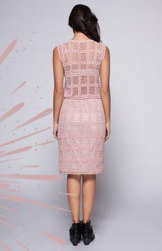 Crochet Bodycon Dresses, Crochet Skirts, Crochet Blouse, Crochet Clothes, Knit Dress, Dress Skirt, Knit Crochet, Blouses For Women, Sweaters For Women
