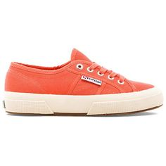 Superga Cotu Classic Sneaker ($65) ❤ liked on Polyvore featuring shoes, sneakers, laced shoes, laced up shoes, superga shoes, rubber sole shoes and laced sneakers