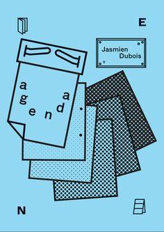 blackforwhitedesign:  Cover for Jasmien's order at B O E K E N K A S T