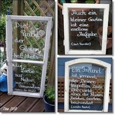 Garten Sprüche Mehr