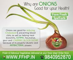 Why onions good for your health!