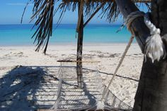 """Cayo Levisa beach in Cuba... I wish I could be having a """"siesta"""" over there right now..."""
