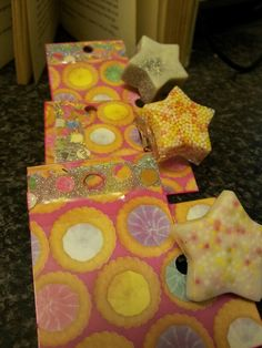 Lovely stars and sprinkles and glitter