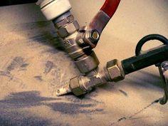 Изготовление самодельного пескоструйного аппарата своими руками