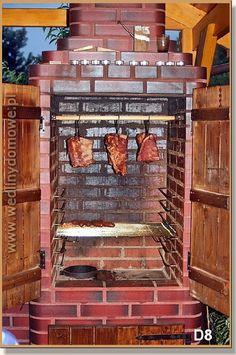 Budowa grillo-wędzarni Mamuta z objaśnieniami