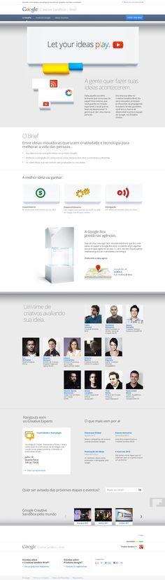 #minimal Google like #Webdesign #design