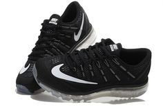 183e61fb58a9 Spring Summer 2018 Cheap Priced Nike Air Max 2016 Black White Silver