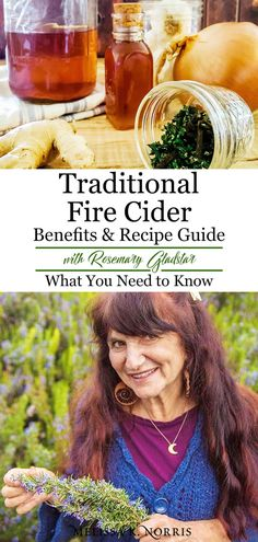 Traditional Fire Cider Recipe & Benefits Guide w/ Rosemary Gladstar