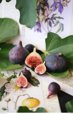 Fresh fig tart recipe! Photography : Tasha Seccombe | Recipe: Ilse van der Merwe