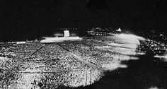 Multidão. A missa do 36º Congresso Eucarístico Internacional reuniu milhares de pessoas no Aterro de Santa Luzia