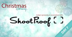 The BIG £20K Christmas Giveaway – It's Day 7 of our festive giveaway! Today, we're giving away 11 fantastic prizes in association with our friends at ShootProof. Today, you're in with a chance of winning 1 of 3 Annual Membership Plans with ShootProof, 1 of 3 half-price (50% off) Membership Plans – to use on ANY ShootProof Membership Plan and 1 of 5 Acrylic Galleries from Loxley Colour. Enter now: www.facebook.com/LoxleyColour/