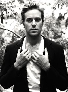 I think a primal role of a man in a relationship is to protect his woman. Armie Hammer
