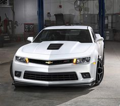 There's just something sexy about a white Camaro