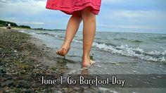 June 1 Go Barefoot Day