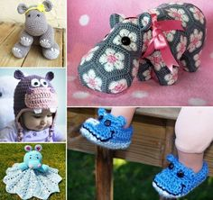 DIY Crochet Hippo Patterns
