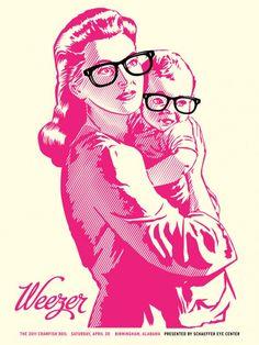 FYI Monday: Striking Gig Posters by Aaron Gresham
