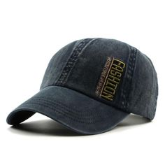 a42c6a3b0b4 Unisex Baseball Cap- Faded Denim Baseball Cap Men or Women