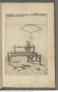 Errard, J.(Jean),1554-1610. Instruments mathematiques mechaniques. Imprimé à Nancy: Par Ian-Ianson, imprimeur de son Altesse,M.D.LXXXIIII [1584]. Typ 515.84.368. Houghton Library, Harvard University, Cambridge, Mass.  pds.lib.harvard.edu/pds/view/42898874?printThumbnails=no&action=jp2resize&op=j&imagesize=2400&pvHeight=1200&pvWidth=1200&n=13&rotation=0&bbx1=0&bby1=0&bbx2=84&bby2=130&jp2Res=0.5&pres=0.25&jp2x=0&jp2y=0&maximum.x=3&maximum.y=6