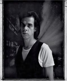 Nick Cave by Gerald Jenkins, 1997.