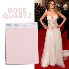 See the Top 10 Colors for Spring 2016 - Rose Quartz - from InStyle.com