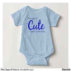 This Type of Cute Baby Bodysuit