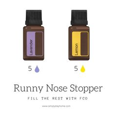 This essential oil blend stops the runny nose ! Essential Oils Runny Nose, Essential Oils For Babies, Roller Bottle Recipes, Essential Oil Diffuser Blends, Doterra Essential Oils, Doterra Blends, Yl Oils, Osho, Young Living