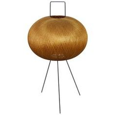 Tripod Floor Lamp in the Style of Isamu Noguchi, Germany, 1950s