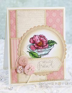 Stamp Talk with Tosh: Simply Camellias ~ Power Poppy