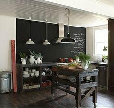 Love the Blackboard in the Kitchen