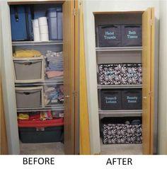 Make-over any closet!