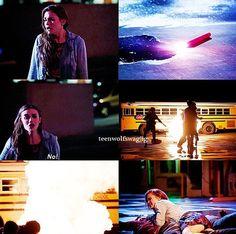 Holland Roden (Lydia) , Crystal Reed (Allison) , Tyler Posey (Scott) , & Dylan O'Brien (Stiles) - Teen Wolf
