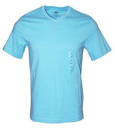 Short Sleeve Tee, Short Sleeves, Soft Fabrics, V Neck T Shirt, Turquoise, Mens Tops, Cotton, Christmas Sale, Shirts
