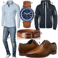 Herrenoutfit mit Hemd, Jeans und Business-Schuhen #hemd #gentlemen #business #bugatti #jeans #fossil #outfit #style #herrenmode #männermode #fashion #menswear #herren #männer #mode #menstyle #mensfashion #menswear #inspiration #cloth #ootd #herrenoutfit #männeroutfit