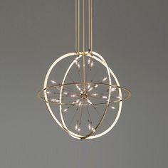 ARMILLA Kronleuchter von Okholm Lighting | Lüster/Kronleuchter