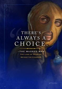 The Masked Man from Land of Stories by Chris Colfer I Love Books, Good Books, Books To Read, Amazing Books, Story Quotes, Book Quotes, Land Of Stories Movie, Book Show, Book Series