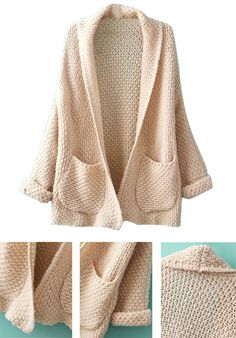 You've got the hug? We've got the cardigan. This sweater is made in a soft fabric and features pockets, open front and hood for extra warmth. You can enjoy free shipping and tax at CUPSHE.com