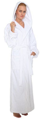 291beed774 Bathrobes Online Mens and Womens Hooded Full Ankle Length Turkish Terry  Cotton Long Bathrobe –
