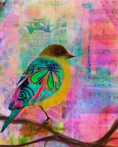 """Just Be"" ~ iPad Art By Robin Mead"