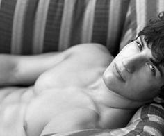 Smouldering look = my private heaven.