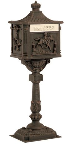 AMCO Victorian Pedestal Residential Mailboxes