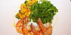 Try this Prawns with Mango Salsa recipe by Chef Lucy Stewart. Prawn Mango Salad, Colombian Food, Colombian Recipes, Seafood Recipes, Cooking Recipes, Mango Salsa Recipes, Prawn Shrimp, Xmas Food, Recipe Search