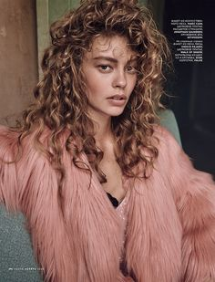 Ondria Hardin for Vogue Russia November 2015 by Mariano Vivanco