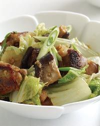 Miso-Ginger Chicken and Cabbage Recipe on Food & Wine