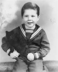 Robert Redford as a child.