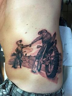 Motocross tattoo Más