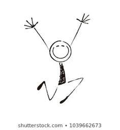 Easy Doodles Drawings, Simple Doodles, Art Drawings For Kids, Art Drawings Sketches, Drawing For Kids, Cute Drawings, Art For Kids, Deco Tape, Stick Figure Drawing