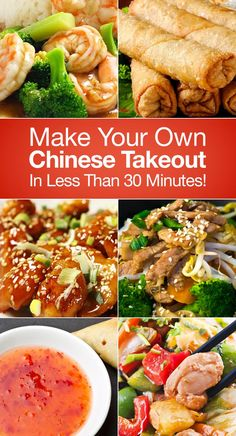 Make Your Own Chinese Takeout In Less Than 30 Minutes!