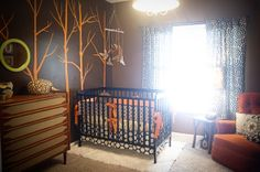 Judes Vintage Nursery, An economical ($1000!) nursery for our new baby Jude!  Inspired by vintage, antique pieces that were spruced up, bold...