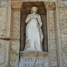 Ancient statue in Ephesus